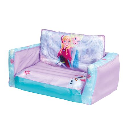 frozen beds disney frozen flip out sofa sofa bed new inflatable ebay