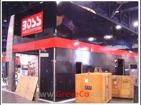 Trade Show Booth Design Orange County | two story custom trade show exhibition booth design orange