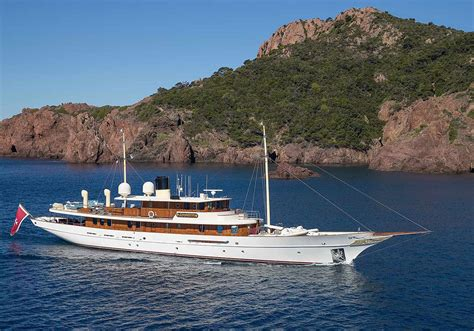 A Frame Homes For Sale by Jk Rowling S 26m Yacht With Interiors Designed By Johnny