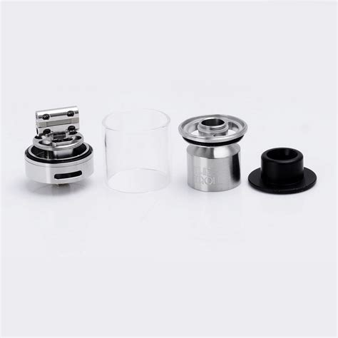 The Troll Rta Atomizer authentic wotofo the troll rta silver 5ml 24mm rebuildable