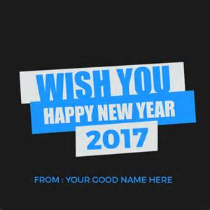 happy new year archives write name on image