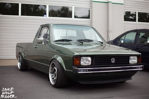volkswagen rabbit truck vw rabbit pickup vw caddy mk1 pinterest