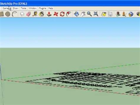 google sketchup tutorial copy how to import an autocad file using google sketchup
