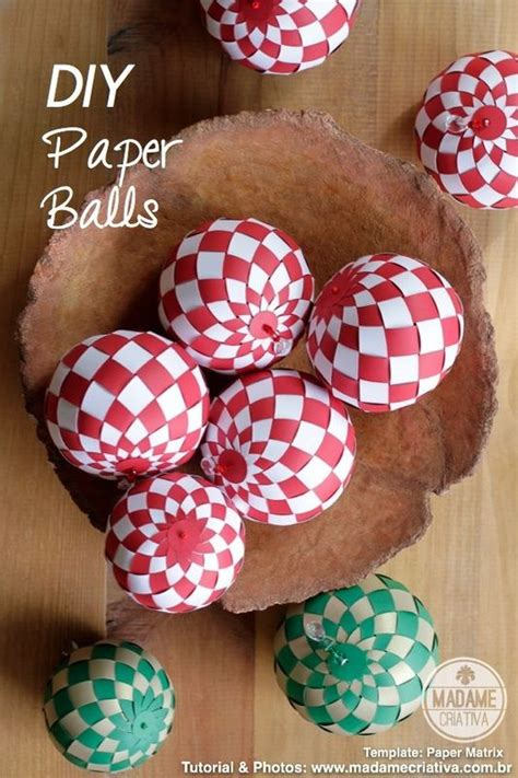 How To Make Decorative Paper Balls - diy tutorial paper balls so beautiful made with the