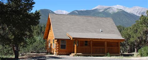Colorado Rustic Cabin Rentals by Cabins For Rent At Mount Princeton Springs Resort