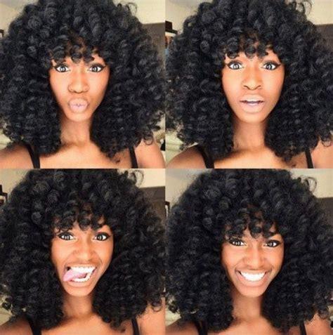 different ways to style crochet curls 30 trendy crochet braid hairstyles herinterest com