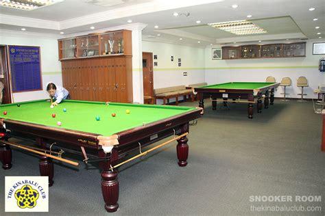 snooker room snooker room the kinabalu club