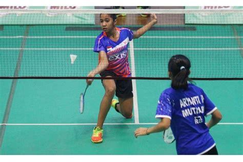 Raket Di Malang 700 peserta berlaga di sirnas milo badminton malang republika