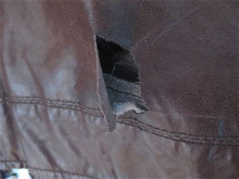 how to fix a hole in a leather couch leather care repair restoration jacket coat leather
