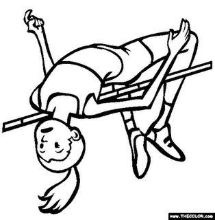 Pirus Gambar Lumba Lumba Lompat gadis antik atlet geng bas sekolah