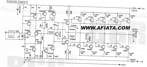 Lifier Blazer 1000 Watt 1000 Watt Lifier Circuit Diagram Periodic Diagrams