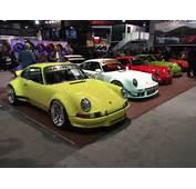 RWB Porsches Take Over SEMA &187 AutoGuidecom News