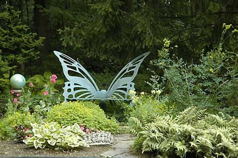 Butterfly Garden Bench by Butterfly Bench Magic Garden