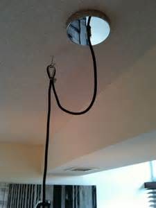 how to hang ceiling light creed how to swag a pendant