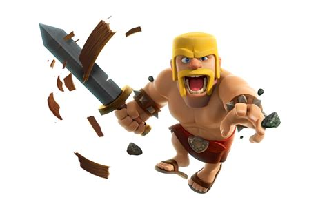 barbarian 3 coc render by flopperdesigns on deviantart