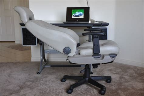 volvo office volvo s70 leather office manager racing chair light