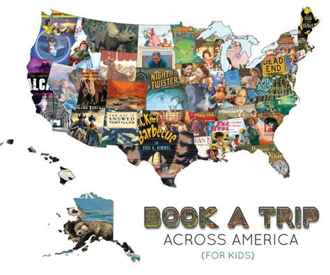 across the usa books book a trip across america all ages reading program