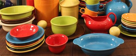 ware colors fiestaware entertaining set bright colors 146941164
