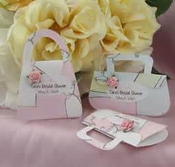 personalized mini purse bridal shower favor mint favor