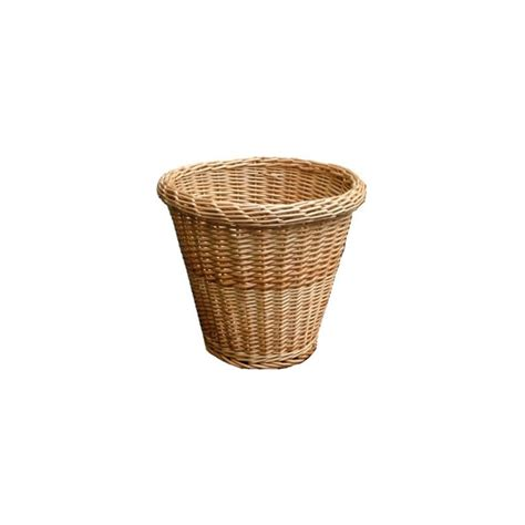 waste paper baskets buy round wicker waste paper bins online from the basket