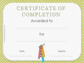 Template Certificate Of Completion by Certificate Of Completion Template Customize