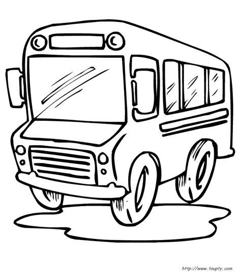 bus coloring page pdf bus picture az coloring pages