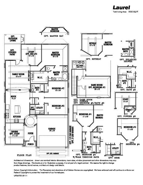 gehan floor plans gehan laurel floor plans pinterest