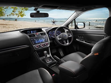 subaru xv interior 2016 xv crossover subaru of zealand