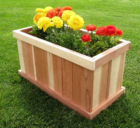 backyard garden box design best 25 rectangular planter box ideas on pinterest