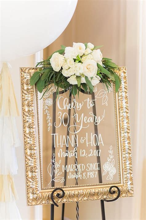 elegant spring anniversary party anniversary party ideas