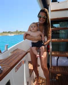sam s boat instagram towie s sam faiers shows off post baby body in adorable