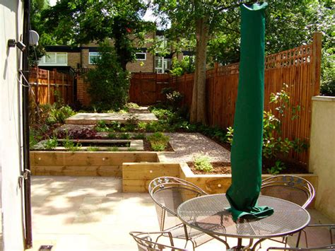 low maintenance garden design with split level tim mackley garden design 33827 garden inspiration ideas