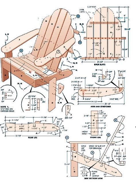 furniture plan key decobizz com 34 best images about adirondack chair plans on pinterest