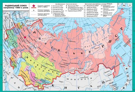 russia map before 1980 map of ussr before 1990 map ussr map beforeafter 点力图库