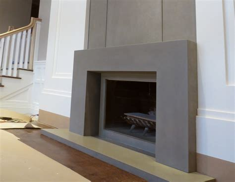 concrete fireplace surrounds contemporary concrete fireplace surround trueform decor