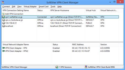 softether vpn client softether vpn project