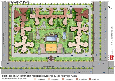 nri layout land price sds nri residency in sector 45 noida price location