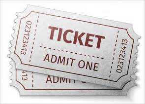 blank admit one ticket template ticket templates 99 free word excel pdf psd eps