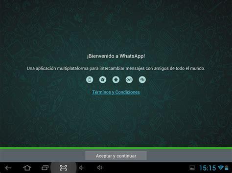 tutorial instalar whatsapp en tablet instalar whatsapp en una tablet android excellence