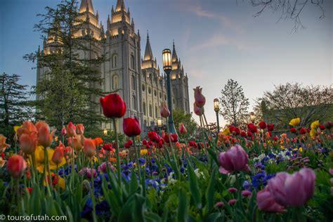 Flower Garden City Flowers On Temple Square Sightseeing Tour Salt Lake City Tours Utah Sightseeing Tours