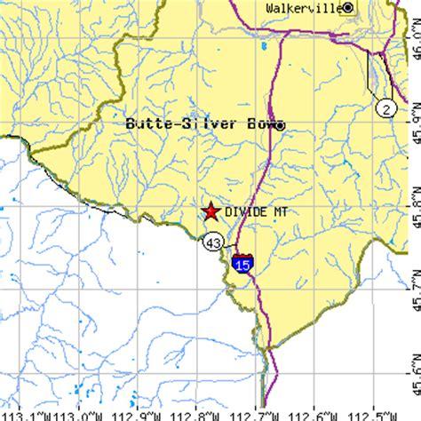 us area code 245 divide montana mt population data races housing