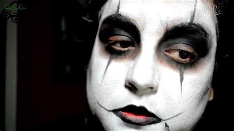 imagenes de halloween hombres serie halloween el cuervo the crow makeup tutorial