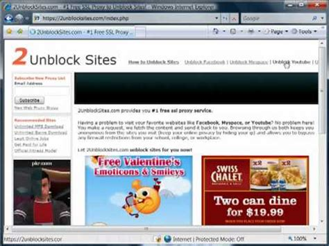 watch youtube unblocked how to unblock sites youtube