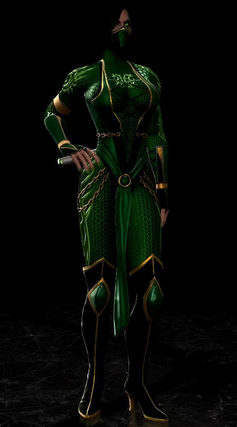 Bodyguard Skin For Jade Mortal Kombat By Misucra On Deviantart