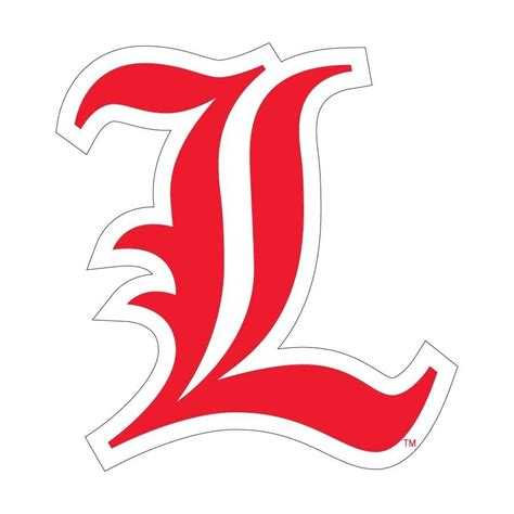 College L by Ul Of Louisville Cardinals Large Logo Decal Ebay