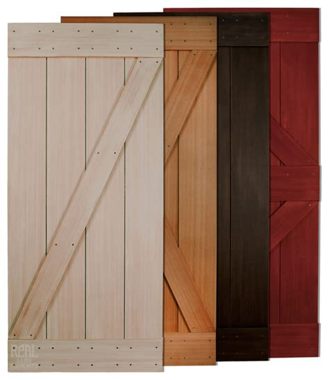 Western Interior Doors Western Cedar Barn Door Rustic Interior Doors By Real Sliding Hardware