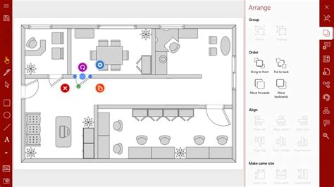 floorplans app grapholite diagrams flow charts and floor plans
