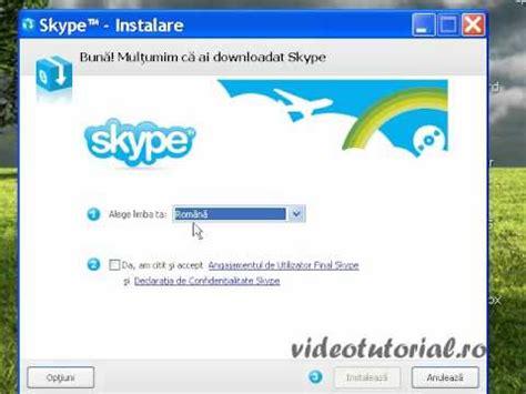 tutorial utilizare skype cum sa instalezi aplicatia de skype pentru windows 8 doovi