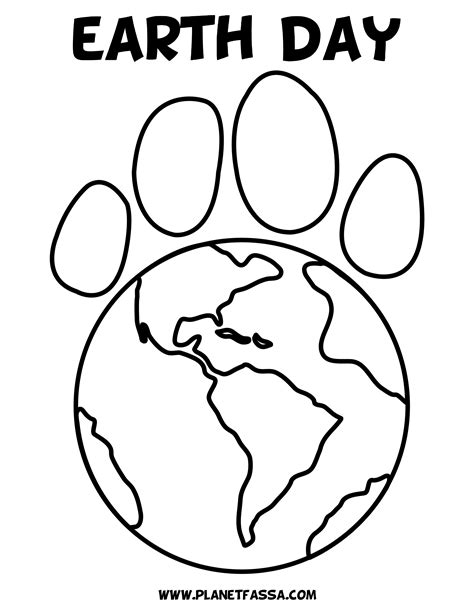 Planet Earth Printable Pics About Space Earth Day Coloring Page