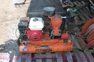f9119d jpg 1993 american imc t55 air compressor honda gx120 gas engine 4 hp in need of